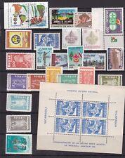 LATIN AMERICA  ^^^^^^^x24  MNH   +  S/S ( SCOUT JAMBOREE)$$ @ cam3521latin