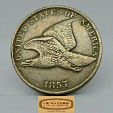 1857 Flying Eagle One Cent, High Grade -  #B18461