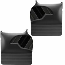 1955 - 1959 Chevy Truck Large Molded SPORT R Door Panels by TMI, Contrast Stitch