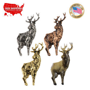 Creative Pewter Designs Red Deer Stag  Lapel Pin or Magnet, M019