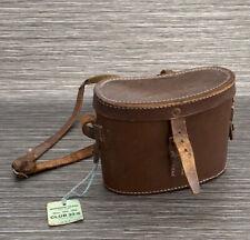 Vintage Leather Binocular Case