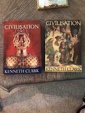 Civilisation by Clark Kenneth 6th Impression Pb 1970 & HC 1st Ed Lot