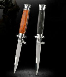 Tactical Folding Pocket Knife High Hardness Survival Camping Hiking Knives Steel