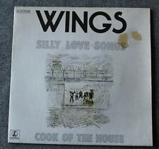Wings & Paul McCartney, silly love songs / cook of the house, SP - 45 tours Fr