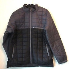 NWT MENS DUTCH HARBOR GEAR QUILTED PUFFER JACKET - LARGE - GREY - RETAIL $60