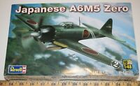 Revell New A6M5 Zero WWII Japanese Aircraft 1/48 scale Model Kit ships from USA