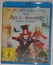 Alice im Wunderland Hinter den Spiegel Blu Ray NEU OVP
