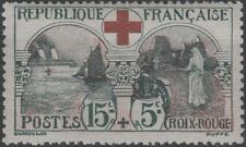 "FRANCE STAMP TIMBRE N° 156 "" CROIX ROUGE 1918 15c+5c INFIRMIERE "" NEUFxxTTB K143"