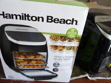 Hamilton Beach 11 Qt. Black Digital Air Fryer w/ Rotisserie & Rotating Basket