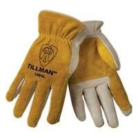 Tillman 1464 Top Grain Cowhide/Split Drivers Gloves, Large