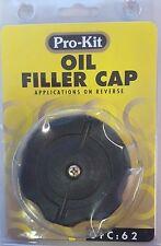 Pro-Kit Oil Filler Cap fits FORD LASER & METEOR, MAZDA 323 RWD & Van RSE OFC62