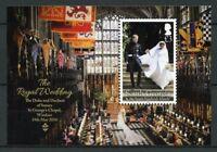 South Georgia & Sandwich Isl 2018 MNH Prince Harry & Meghan 1v MS Royalty Stamps