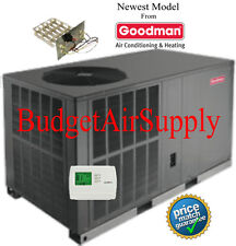 "3 Ton 16 seer Goodman HEAT PUMP""All in One""Package Unit GPH1636H41+Heat+tstat+"