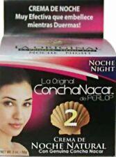 2x-Perlop La original Concha Nacar Crema de Noche Natural # 2 - 2oz 56g