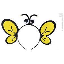Yellow & Black Bumble Bee Headpiece Fancy Dress Costume Accessory