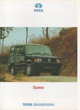 Tata sumo SUV Car (made in India) _ 2000 folleto/brochure