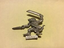 VINTAGE 1999 Warhammer MORDHEIM Skaven Night Runner - Unpainted Metal