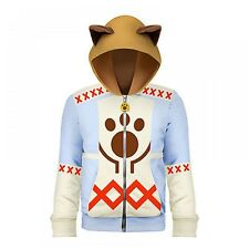NEW Monster Hunter X Cross Cat Hunter Hoodie Capcom Game Cosplay XL size Japan
