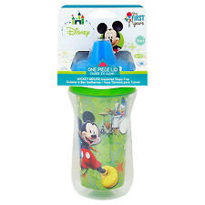 The First Years Disney Baby Mickey and Minnie Mouse Insulated Sippy Cup