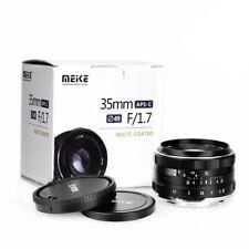 Manual Focus Lens APS-C Fujifilm XF Camera Large Aperture 35mm f1.7 Wide Angle