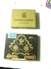 Two Collectible Empty London Cigarette Packs