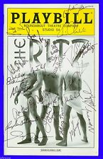 Playbill + The Ritz + Autographed by Ryan Idol, Rosie Perez + The Entire Cast