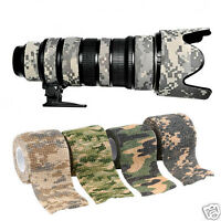 Concealment Aid Elastic Camouflage Hunt Camping Disguise Camo Wrap Tape