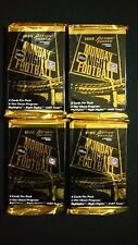1995 Action Packed Monday Night Football 4 Pack Lot