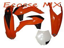 KTM SX85 2004-2016 UFO Fork Guards Orange 3091 127