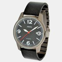 ARISTO Unisex 5H83 Schweizer Automatik Uhrwerk Carbon Titanium 5ATM