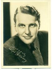 RALPH BELLAMY Orig 1934 5x7 Fan Photo Signed