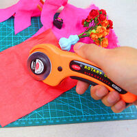 45mm Round Rotary Cutter Sewing Quilting Roller Fabric Cutting Craft Tool