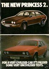 Austin Princess 2 1978-79 UK Market Sales Brochure 1700 2000 2200 L HL HLS