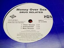 "Money Over Sex-Drug Related-12"" Single-Jive-Promo-Vinyl Record-VG+"