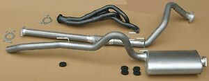 """Toyota Hilux 3.0L Diesel 4WD 1997-2005 (Extractors + 2 1/2"""" Outback Exhaust)"""