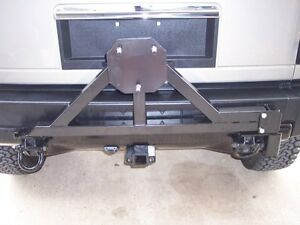 Hummer H2 Tire Carrier with drop down option. NEW