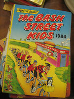 2 BASH STREET KIDS FROM THE BEANO ANNUAL BOOKS 1984 & 1986