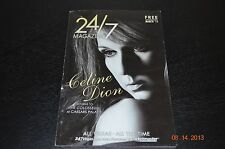 Celine Dion 24/7 Magazine/Booklet - March 2011 - New
