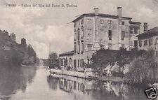 Treviso Veduta del Sile dal Ponte S.Martino f.p.