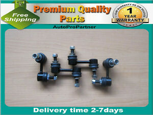 4 FRONT REAR SWAY BAR LINKS FOR NISSAN ARMADA TITAN 05-13