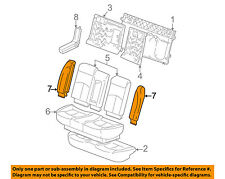 Buick GM OEM 00-04 Century Rear Seat-Outer Cover Right 12456958
