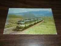 1967 NORTHERN PACIFIC NORTH COAST LIMITED PASSENGER TRAIN VISTA DOME POST CARD