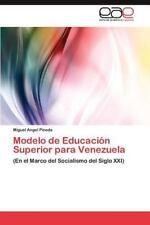 Modelo de Educacion Superior Para Venezuela (Paperback or Softback)