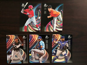 2018 Bowman Platinum Lot of 5 Cards Top Prospects and Base