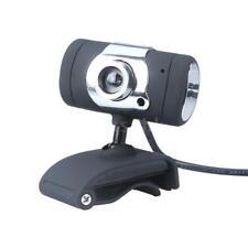 USB 2,0 50.0 M Webcam HD fotocamera Web Cam con microfono per Computer nero A3R6