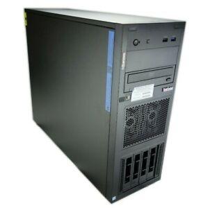 Lenovo ThinkSystem ST250 Tower 4B 3.5 Xeon E-2124 3.3GHz QC 8GB No HD 7Y45A02NNA