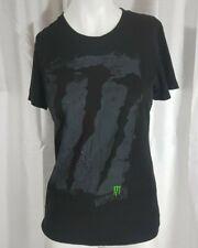 Monster Energy Drink T-Shirt Mens Size Medium Black Logo Graphic