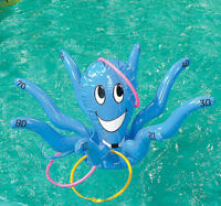 Inflatable Octopus Ring Toss Game Toy Beach Pool Fun Indoor Outdoor