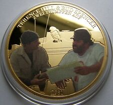 Zwei Asse trumpfen auf / Bud Spencer & Terence Hill - 50 MM - MEDAILLE - GOLD