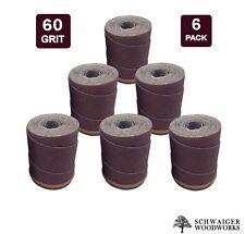 Drum Sander Sanding Wraps/Rolls, 60g for JET/Performax 16-32 & Ryobi WBS1600, 6